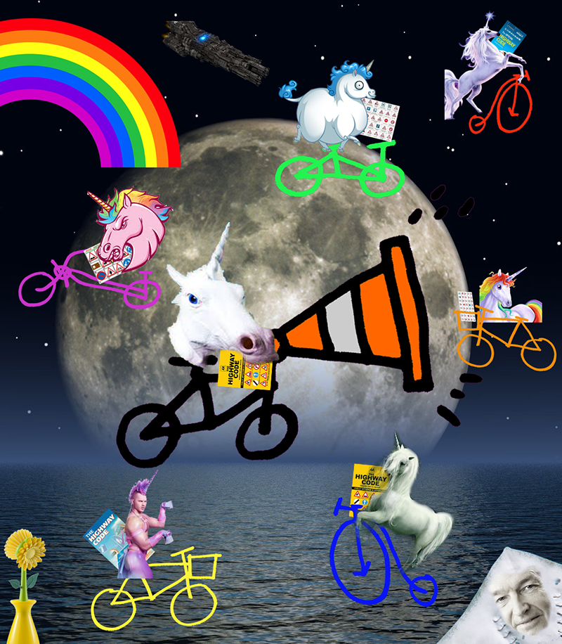 Bike Unicorn Land