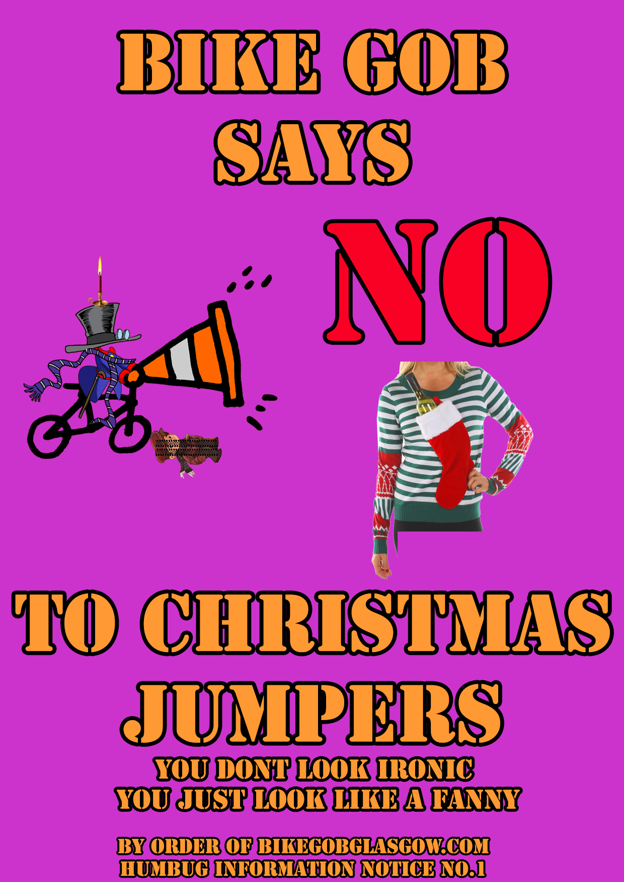 NoToChristmasJumpers