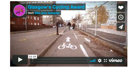 Glasgow's Cycling Award