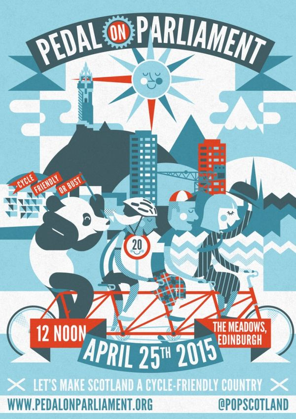 Pedal on Parliament April 25th 2015