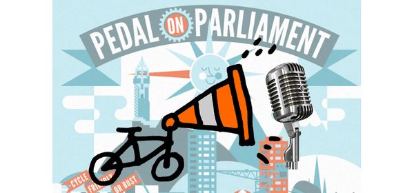 Pedal on Parliament Will Ya!!!